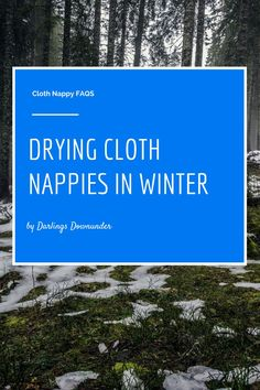 Drying #clothnappies in winter: What can you do to make sure you don't run out of nappies, and your house isn't overtaken by half-dry washing?