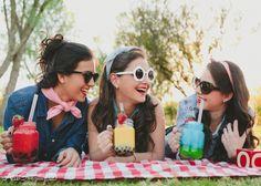 Mayte, María y Dani