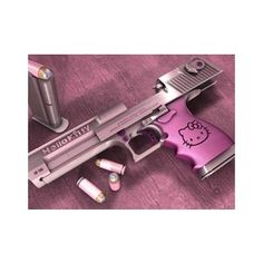 Hello Kitty AK-47 | Don't Get On My Bad Side, I Can Work A Gun - Polyvore