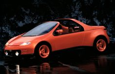 Pontiac Salsa. A 1992 concept car designed at G.M.'s Advanced Concept Center in Southern California. It could transform from an all-weather, five-seat hatchback to a five-seat convertible or a two-seat panel/delivery truck.