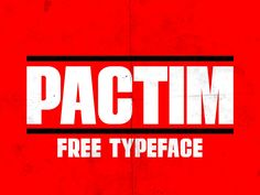 """Pactim is a sans serif font based on Impact the """"meme - font"""".Uppercase available, numbers and Glyphs. One does not simply get rid of impact! Free download available for any purpose. -(License for commercial use)."""