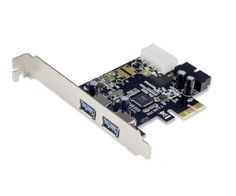 Syba SD-PEX20122 2 Port USB 3.0 with 19 Pin Header PCI-E x1 Card by Syba. $15.39. Easily super speed USB 3.0 PCI-Express Card features 2 external USB 3.0 ports and one internal 19-pin USB 3.0 header. Save 50%!