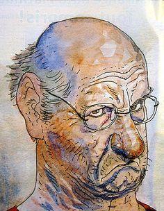 Autoportrait de mauvaise humeur Moebius