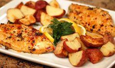 Cilantro Garlic Chicken Breasts