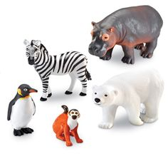 <br/>Realistically+detailed+animals+designed+for+little+hands+and+big+imaginations!++Figures+invite+imaginative+play+and+are+perfect+for+vocabulary+development.+++Activity+guide+includes+facts+about+each+animal+and+early+science+discussion+starters.++Made+of+durable,+non-toxic+plastic.+<br/><br/>  Includes:+<br/><br/>