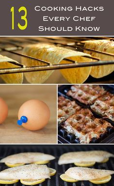 These 13 cooking hacks will make you feel like a professional chef in no time. You'll wish you knew about these sooner ;)
