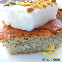 Haşhaşlı Revani Tatlısı Tarifi - Afiyetli Sofralar - Yemek Tarifleri