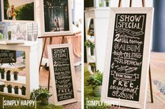 Awesome bridal show booth_Gina and Ryan Photography 4