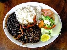 typical Costa Rica meal ... so good for you!