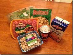crockpot italian sausage and tortellini soup…brown sausage, all into a crockpot LOW Pork Recipes, Fall Recipes, Slow Cooker Recipes, Crockpot Recipes, Cooking Recipes, Crock Pot Tortellini, Crock Pot Soup, Crock Pot Cooking, Recipes
