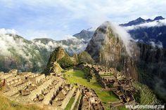 Machu Picchu, morning time.