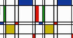 Icônica - Piet Mondrian e Suas Pinturas   Criador do Neoplasticismo