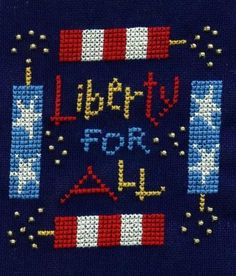 """Lizzie Kate Freebie """"Liberty for All"""""""