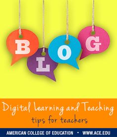 Start a conversation, and engage your students! Click here for five blog ideas for the classroom.