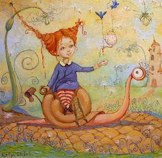 Ekaterina Dudnik \ Painter-Illustrator