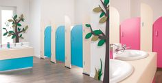 Cubicle Centre's Sydney nursery and infant toilet cubicles are made from FSC certified panels!
