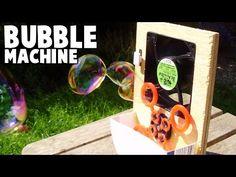 Simple Homemade Bubble Machine - YouTube