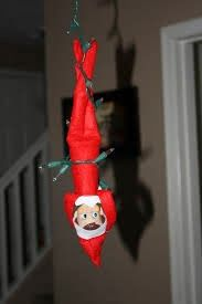 Simple Elf on the Shelf ideas with items lying around your home.