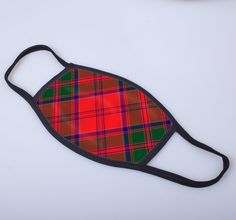 non medical face covering with Drummond printed tartan - only from ScotClans