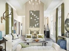 HGTV Fresh Faces of Design - Organically Inspired: Nature-Inspired Living Room by Melanie Millner >> http://www.hgtv.com/design/fresh-faces-of-design/2015/organically-inspired?soc=pinterest