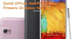 Guide To Install Official Android Lollipop On Galaxy Note 3 SM-N900 - TechnoWasp