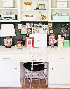 10 Organised Home Office Ideas