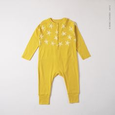BOBO CHOSES BABY ROMPER WITH STARS