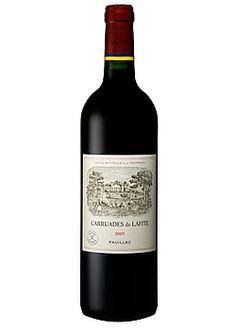 Chateau Carruades de Lafite Pauillac  World Class wine.