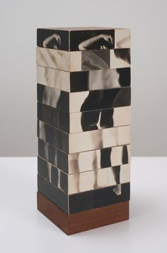 Robert Heinecken — Fractured Figure Sections, 1967, photographs, wood
