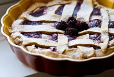 #vegan #blackberry #pie