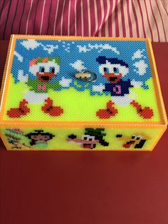 Caja de michey mouse hama beads