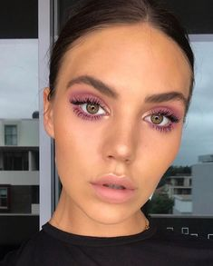 Trendy eye makeup purple tutorial eyebrows 62 Ideas Trendy Augen Make-up lila Tutorial Augenbr Perfect Makeup, Pretty Makeup, Simple Makeup, Natural Makeup, Sleek Makeup, Stunning Makeup, Makeup Trends, Makeup Tips, Makeup Ideas