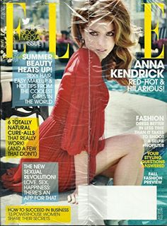 Elle Magazine July 2014 [Anna Kendrick on the Cover}