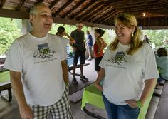 """Brett """"Buzzy"""" Morgan and his family celebrated the tenth anniversary of his liver transplant Saturday with a special guest — the best friend of his donor."""