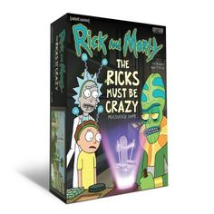 Take on the roles of Rick, Morty, Zeep, and Kyle and introduce wondrous Power-making technology to the worlds you've created . and then steal most of it for Rick And Morty Episodes, Ricky And Morty, Crazy Games, Used Engines, Get Schwifty, Building Games, Game Sales, Drinking Games, Trivia Games
