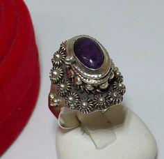 Antiker+925er+Silberring+Giftring++18+mm+SR138+von+Atelier+Regina++auf+DaWanda.com