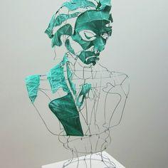Portrait de Beethoven par le designer plasticien Clément Calaciura