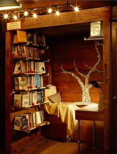 Nature book room
