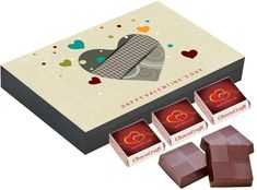 Gifts for him on valentine day   Personalized chocolate
