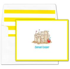 Note Cards Personalized Stationery Paper Cards Stationary Fruit Flat Cards FC023 2 sizes