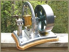 Coomber Rotary Steam Engine