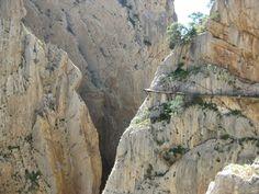Caminito del Rey chemin le plus dangereux du monde 7   Caminito del Rey: le chemin le plus dangereux du monde?   record du monde photo image...