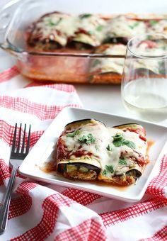 Eggplant Lasagna Rol