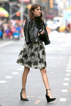 Alexa Chung - The Fashion Spot
