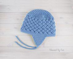 Download Celtic Dream Earflap Hat Crochet Pattern (FREE)