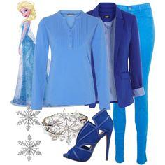 """Elsa"" by violetvd on Polyvore"
