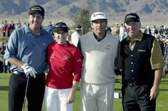 Phil Mickelson, Annika Sorenstam, Fred Couples and Mark O'Meara