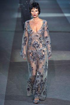 Louis Vuitton Fall 2013 Ready-to-Wear Fashion Show - Kate Moss (MARILYN)