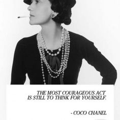 The Fashioholic: Get inspired: Coco Chanel quotes
