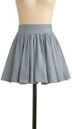 #ModCloth                 #Skirt                    #Denim #Going #Dotty #Skirt #Retro #Vintage #Skirts #ModCloth.com             Denim Going Dotty Skirt | Mod Retro Vintage Skirts | ModCloth.com                                       http://www.seapai.com/product.aspx?PID=1046997